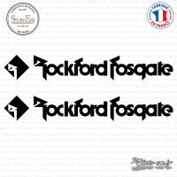 2 Stickers Rockford Fosgate 2 Sticks-em.fr Couleurs au choix