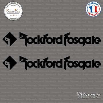 2 Stickers Rockford Fosgate 2