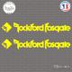 2 Stickers Rockford Fosgate 2 Sticks-em.fr Couleurs au choix