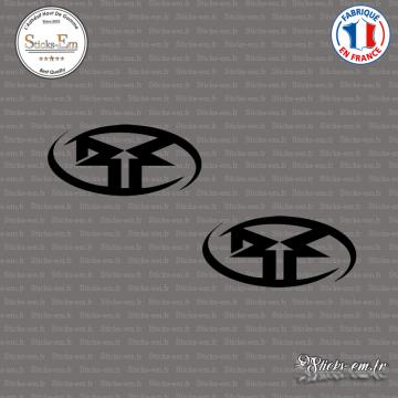 2 Stickers Rockford Fosgate 3