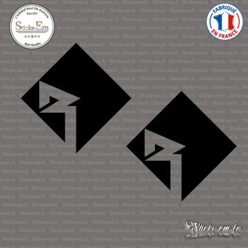 2 Stickers Rockford Fosgate Logo