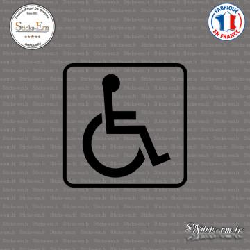 Sticker accès handicapé