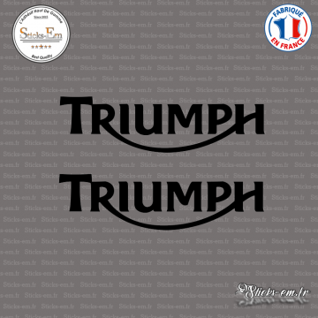 2 Stickers Logo Triumph