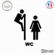 Sticker Toilette Fun sticks-em.fr