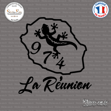 Sticker 974 La Réunion