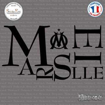 Sticker Marseille Om