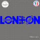 Sticker London Underground - Union Jack XXL Sticks-em.fr Couleurs au choix