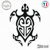 Sticker Animal Tortue Tribal sticks-em.fr