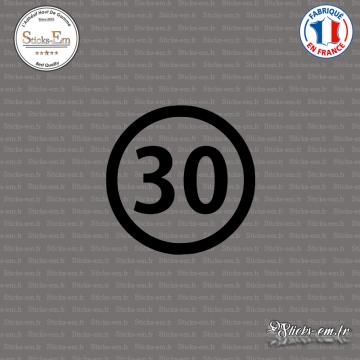 Sticker Département 30 Gard Nîmes Languedoc-Roussillon