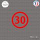Sticker Département 30 Gard Nîmes Languedoc-Roussillon Sticks-em.fr Couleurs au choix