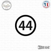 Sticker Département 44 Loire-Atlantique Nantes Pays de Loire