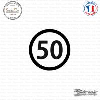 Sticker Département 50 Manche Saint-Lô Basse-Normandie
