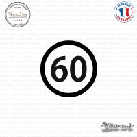 Sticker Département 60 Oise Beauvais Picardie Senlis