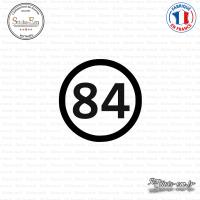 Sticker Département 84 Vaucluse Provence Alpes Côte d'Azur