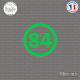 Sticker Département 84 Vaucluse Provence Alpes Côte d'Azur Sticks-em.fr Couleurs au choix