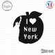 Sticker I Love NY Sticks-em.fr Couleurs au choix