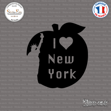 Sticker I Love NY