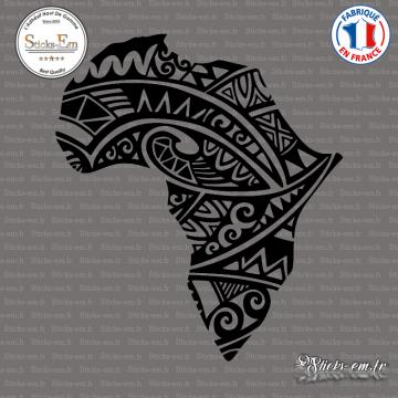 Sticker Afrique Silhouette