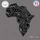 Sticker Afrique Silhouette Sticks-em.fr Couleurs au choix