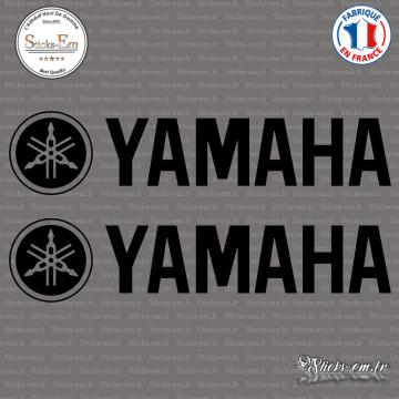 2 Stickers Logo Yamaha