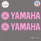 2 Stickers Logo Yamaha Sticks-em.fr Couleurs au choix