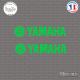 2 Stickers Yamaha Logo 02 Sticks-em.fr Couleurs au choix