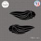 Sticker Aprilia Lion Variation Sticks-em.fr Couleurs au choix