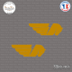 2 Stickers BUELL Sticks-em.fr Couleurs au choix