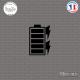 Sticker Batterie Pleine Sticks-em.fr Couleurs au choix