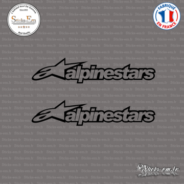 2 Stickers Logo Alpinestars