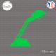 Sticker Lampe de Bureau Sticks-em.fr Couleurs au choix