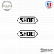 2 Stickers Shoei Sticks-em.fr Couleurs au choix