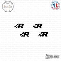 4 Stickers Volkswagen R Sticks-em.fr Couleurs au choix