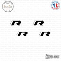 4 Stickers Volkswagen Rr
