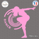 Sticker Dance Design Sticks-em.fr Couleurs au choix
