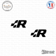 2 Stickers Volkswagen R