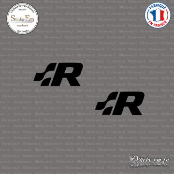 2 Stickers Volkswagen R