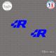 2 Stickers Volkswagen R Sticks-em.fr Couleurs au choix
