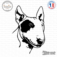 Sticker Bull Terrier Sticks-em.fr Couleurs au choix