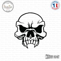 Sticker Tête de Mort Skull