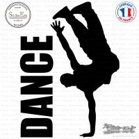 Sticker Danseur de Hip-Hop Sticks-em.fr Couleurs au choix