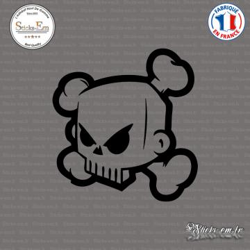 Sticker DC Shoes Ken Block Skull