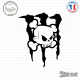 Sticker DC Shoes Monster Ken Block Skull