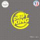 Sticker JDM Drift King Sticks-em.fr Couleurs au choix