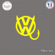 Sticker JDM Volkswagen Devil Sticks-em.fr Couleurs au choix