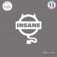 Sticker JDM Nissan Insane Sticks-em.fr Couleurs au choix