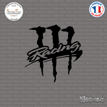 Sticker JDM Monster Racing