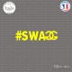 Sticker JDM Swagg Sticks-em.fr Couleurs au choix