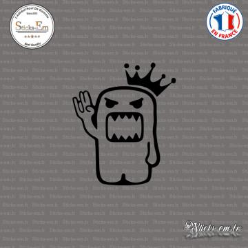 Sticker JDM Domo king