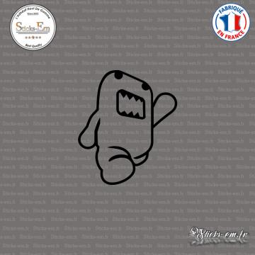 Sticker JDM Domo walk